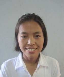 Anna Naa Hleh, Age 17, Parent- U Naan Naa & Daw Yawm Tuei from Seigain Region, Upper Myanmar, she wants to become a Christian Teacher for the Private School