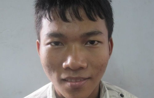 Aung May Oo, Age 18, From Mercy Children Home, He wants to become a good preacher at the Church