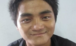 John Thang Ling, Age 21, Parent- U Ling Thang & Daw Phyu Thang from Kachin State, He wants to become a good missionary