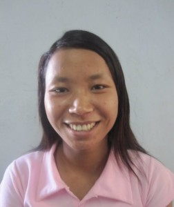 Ling Hning, Age 18, Parent- U Leek Ling & Daw Naing Pam from Chin State, She wants to become children's teacher at the Church