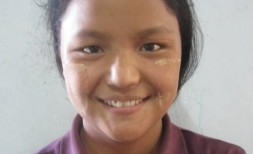 Mawng Li, Age 18, Parent- U Naing Mawng & Daw Nuen Awl from Shan State, She wants tobecome a good teacher at the Church