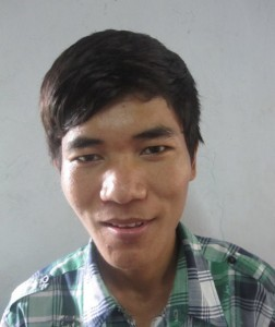 Solo Mon, Age 20, from Mercy Children's Home, He wants to become a good Pastor at the Church