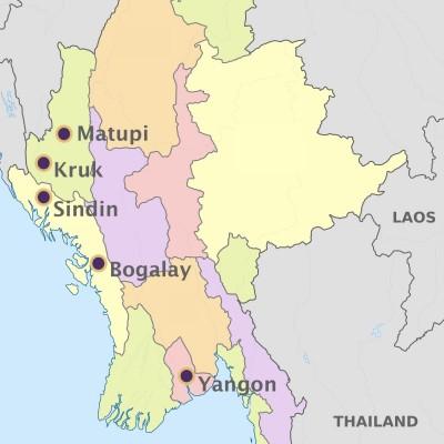 myanmar map 2